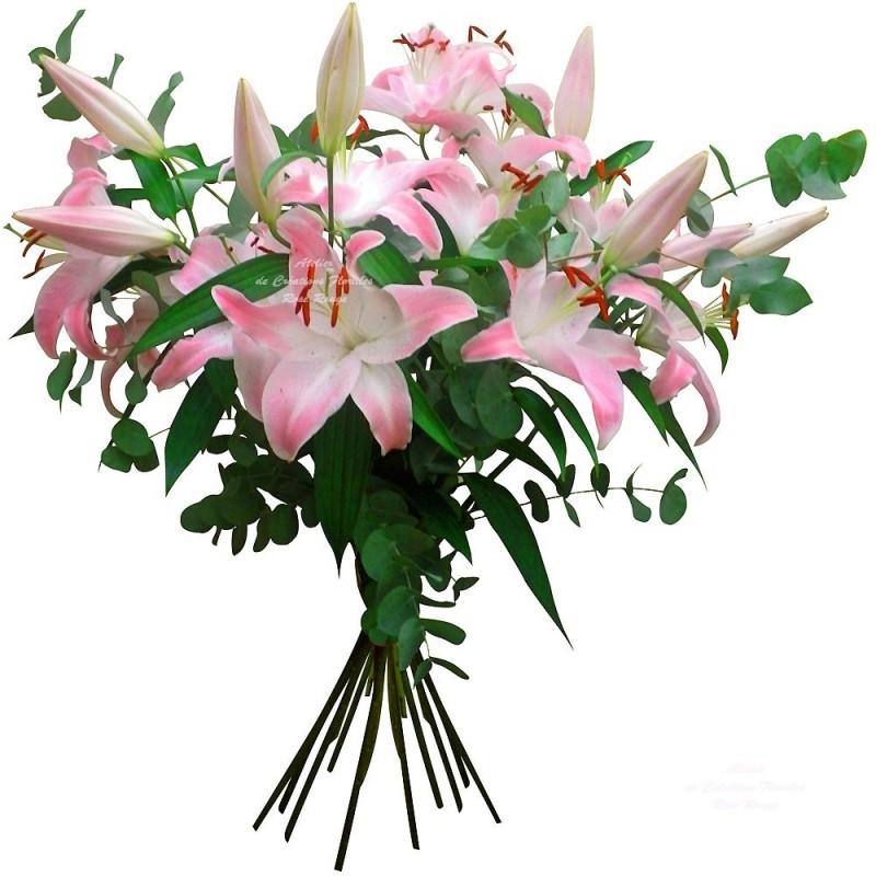 Bouquet tendre lys - Lys blanc signification ...