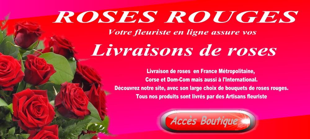 Roses rouges rennes bouquet de roses rouges rennes for Livraison fleurs rennes