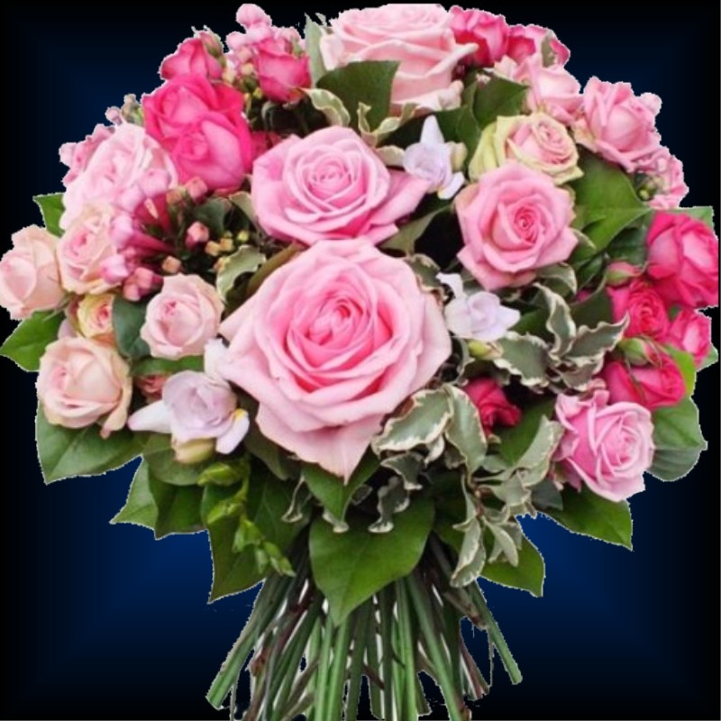 Luxury flowers paris atelier de creations florales rose for Bouquet de fleurs 974