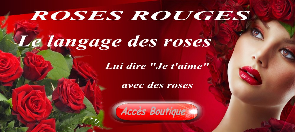 le langage des roses signification des roses rose rouge fleuriste. Black Bedroom Furniture Sets. Home Design Ideas