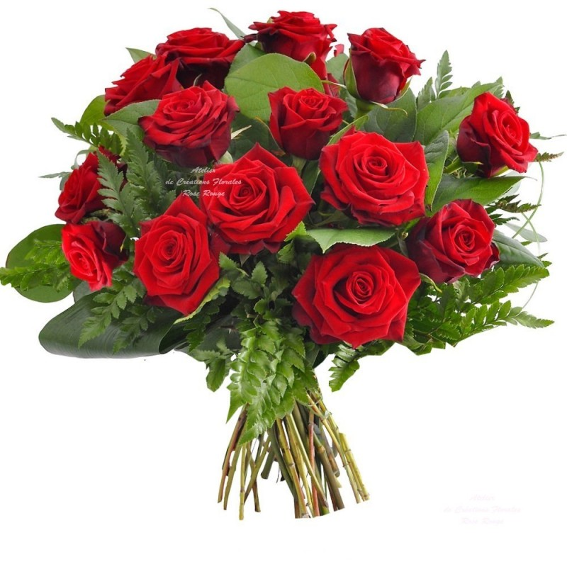 Bouquet de roses rouges val rie for Bouquet de rose