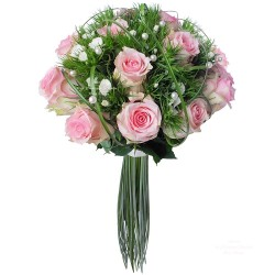 BOUQUET PERLE DE ROSE