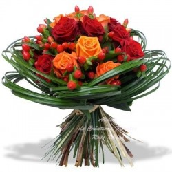 ROSE BOUQUET ARDENTE