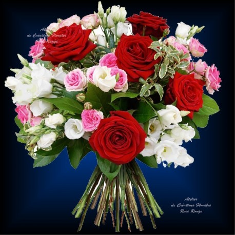 Bouquet Of Roses Romantique