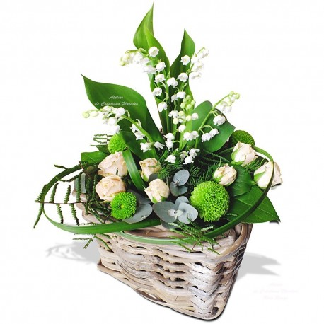 Composition muguet for Bouquet de fleurs muguet