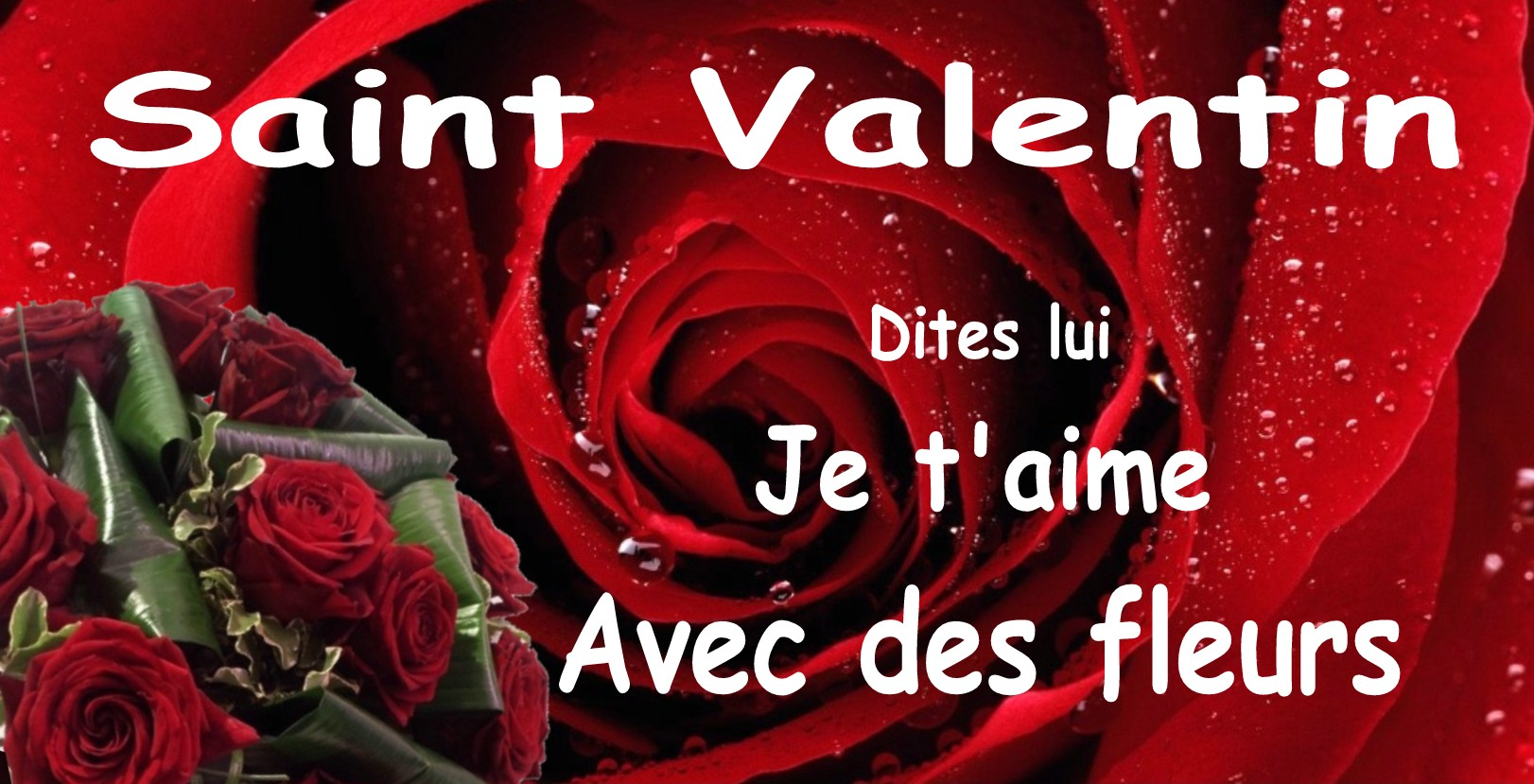 Bouquet De Fleur Pour St Valentin send valentine's day flowers - romantic bouquet - atelier de